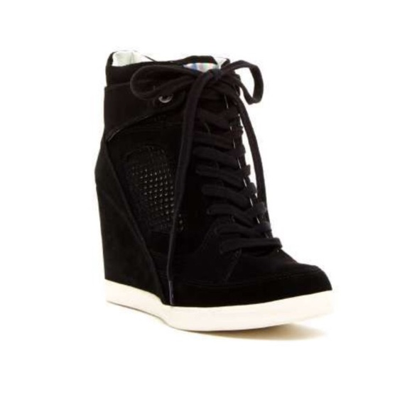 "18d8e94969d French Connection ""Marla"" Wedge Sneakers. M 5b9124be10fc541abd2774c1"